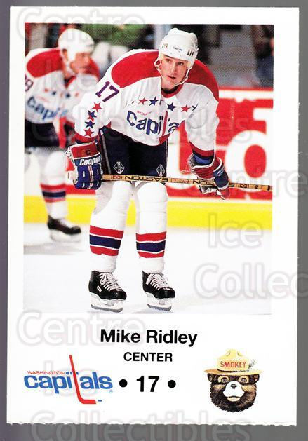 1990-91 Washington Capitals Smokey #19 Mike Ridley<br/>3 In Stock - $3.00 each - <a href=https://centericecollectibles.foxycart.com/cart?name=1990-91%20Washington%20Capitals%20Smokey%20%2319%20Mike%20Ridley...&quantity_max=3&price=$3.00&code=18727 class=foxycart> Buy it now! </a>