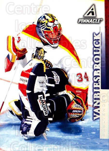 1997-98 Pinnacle #37 John Vanbiesbrouck<br/>4 In Stock - $1.00 each - <a href=https://centericecollectibles.foxycart.com/cart?name=1997-98%20Pinnacle%20%2337%20John%20Vanbiesbro...&quantity_max=4&price=$1.00&code=187463 class=foxycart> Buy it now! </a>