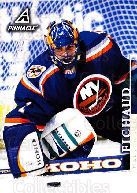 1997-98 Pinnacle #66 Eric Fichaud<br/>6 In Stock - $1.00 each - <a href=https://centericecollectibles.foxycart.com/cart?name=1997-98%20Pinnacle%20%2366%20Eric%20Fichaud...&price=$1.00&code=187494 class=foxycart> Buy it now! </a>