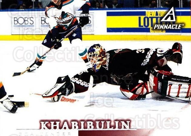 1997-98 Pinnacle #94 Nikolai Khabibulin<br/>5 In Stock - $1.00 each - <a href=https://centericecollectibles.foxycart.com/cart?name=1997-98%20Pinnacle%20%2394%20Nikolai%20Khabibu...&quantity_max=5&price=$1.00&code=187525 class=foxycart> Buy it now! </a>