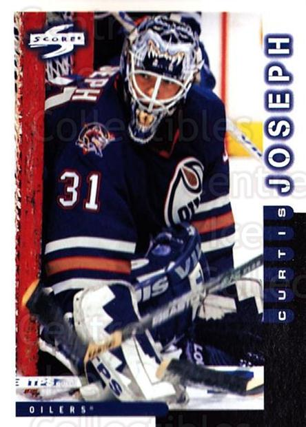 1997-98 Score #31 Curtis Joseph<br/>3 In Stock - $1.00 each - <a href=https://centericecollectibles.foxycart.com/cart?name=1997-98%20Score%20%2331%20Curtis%20Joseph...&quantity_max=3&price=$1.00&code=187545 class=foxycart> Buy it now! </a>