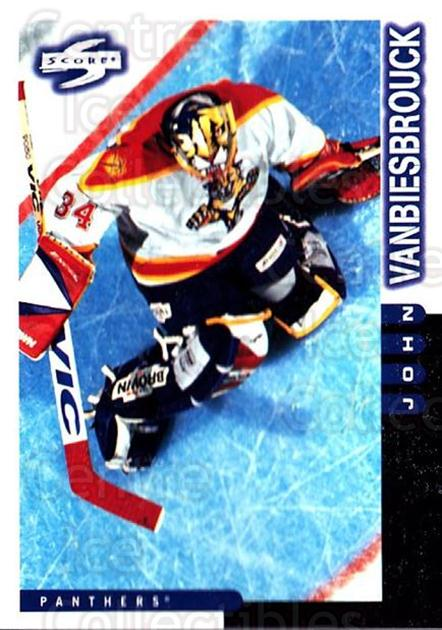 1997-98 Score #34 John Vanbiesbrouck<br/>4 In Stock - $1.00 each - <a href=https://centericecollectibles.foxycart.com/cart?name=1997-98%20Score%20%2334%20John%20Vanbiesbro...&quantity_max=4&price=$1.00&code=187546 class=foxycart> Buy it now! </a>
