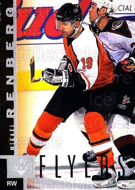 1997-98 Upper Deck #119 Mikael Renberg<br/>4 In Stock - $1.00 each - <a href=https://centericecollectibles.foxycart.com/cart?name=1997-98%20Upper%20Deck%20%23119%20Mikael%20Renberg...&quantity_max=4&price=$1.00&code=187595 class=foxycart> Buy it now! </a>