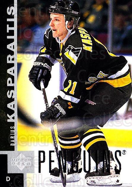 1997-98 Upper Deck #136 Darius Kasparaitis<br/>3 In Stock - $1.00 each - <a href=https://centericecollectibles.foxycart.com/cart?name=1997-98%20Upper%20Deck%20%23136%20Darius%20Kasparai...&quantity_max=3&price=$1.00&code=187614 class=foxycart> Buy it now! </a>