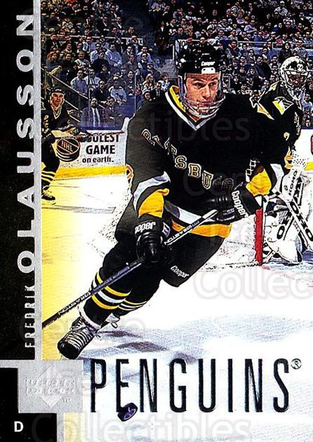 1997-98 Upper Deck #139 Fredrik Olausson<br/>4 In Stock - $1.00 each - <a href=https://centericecollectibles.foxycart.com/cart?name=1997-98%20Upper%20Deck%20%23139%20Fredrik%20Olausso...&quantity_max=4&price=$1.00&code=187617 class=foxycart> Buy it now! </a>