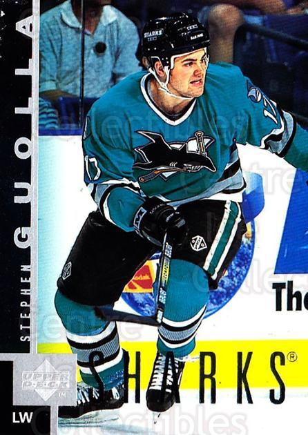 1997-98 Upper Deck #148 Stephen Guolla<br/>3 In Stock - $1.00 each - <a href=https://centericecollectibles.foxycart.com/cart?name=1997-98%20Upper%20Deck%20%23148%20Stephen%20Guolla...&quantity_max=3&price=$1.00&code=187627 class=foxycart> Buy it now! </a>