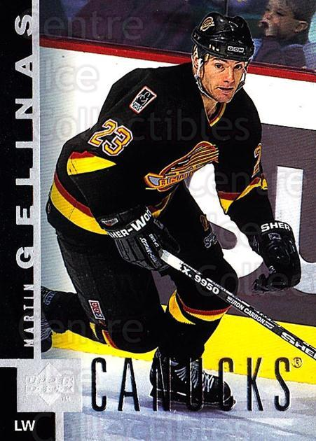 1997-98 Upper Deck #167 Martin Gelinas<br/>3 In Stock - $1.00 each - <a href=https://centericecollectibles.foxycart.com/cart?name=1997-98%20Upper%20Deck%20%23167%20Martin%20Gelinas...&quantity_max=3&price=$1.00&code=187647 class=foxycart> Buy it now! </a>