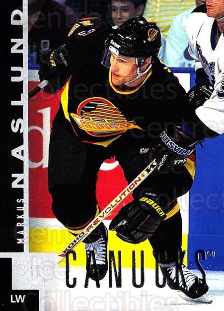 1997-98 Upper Deck #173 Markus Naslund<br/>3 In Stock - $1.00 each - <a href=https://centericecollectibles.foxycart.com/cart?name=1997-98%20Upper%20Deck%20%23173%20Markus%20Naslund...&quantity_max=3&price=$1.00&code=187654 class=foxycart> Buy it now! </a>