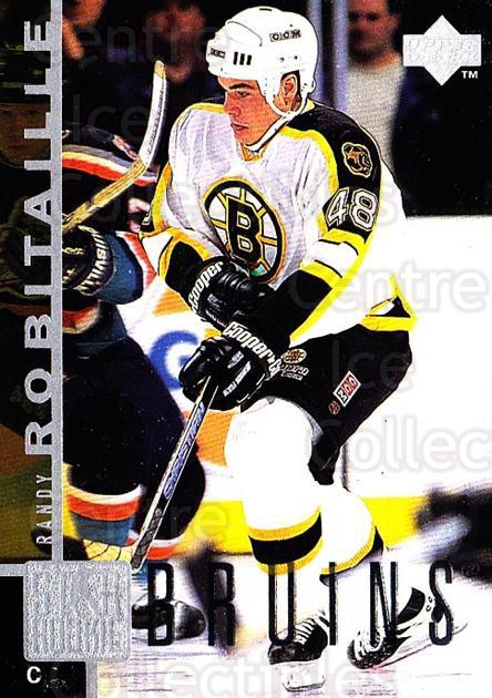 1997-98 Upper Deck #182 Randy Robitaille<br/>2 In Stock - $1.00 each - <a href=https://centericecollectibles.foxycart.com/cart?name=1997-98%20Upper%20Deck%20%23182%20Randy%20Robitaill...&quantity_max=2&price=$1.00&code=187664 class=foxycart> Buy it now! </a>