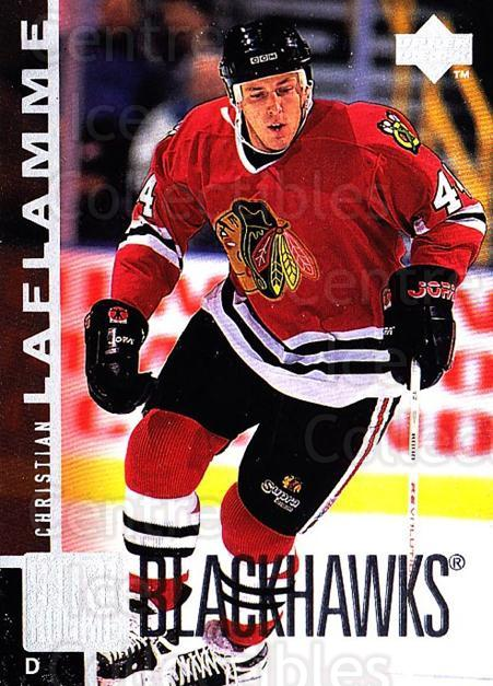 1997-98 Upper Deck #185 Christian Laflamme<br/>3 In Stock - $1.00 each - <a href=https://centericecollectibles.foxycart.com/cart?name=1997-98%20Upper%20Deck%20%23185%20Christian%20Lafla...&quantity_max=3&price=$1.00&code=187666 class=foxycart> Buy it now! </a>
