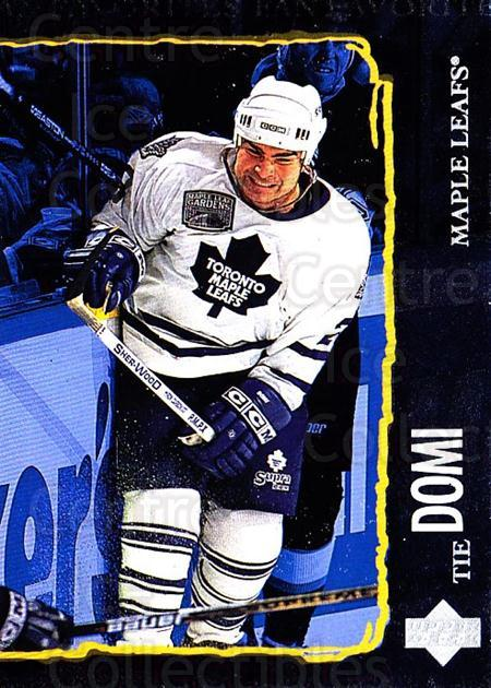 1997-98 Upper Deck #196 Tie Domi<br/>4 In Stock - $1.00 each - <a href=https://centericecollectibles.foxycart.com/cart?name=1997-98%20Upper%20Deck%20%23196%20Tie%20Domi...&quantity_max=4&price=$1.00&code=187677 class=foxycart> Buy it now! </a>