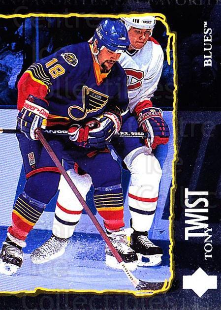 1997-98 Upper Deck #201 Tony Twist<br/>4 In Stock - $1.00 each - <a href=https://centericecollectibles.foxycart.com/cart?name=1997-98%20Upper%20Deck%20%23201%20Tony%20Twist...&quantity_max=4&price=$1.00&code=187684 class=foxycart> Buy it now! </a>