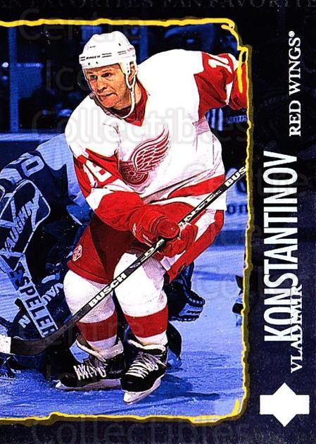 1997-98 Upper Deck #203 Vladimir Konstantinov<br/>5 In Stock - $1.00 each - <a href=https://centericecollectibles.foxycart.com/cart?name=1997-98%20Upper%20Deck%20%23203%20Vladimir%20Konsta...&quantity_max=5&price=$1.00&code=187686 class=foxycart> Buy it now! </a>