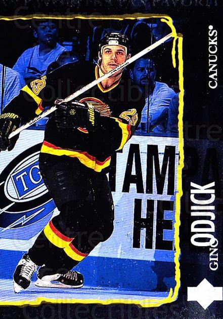 1997-98 Upper Deck #206 Gino OdJick<br/>5 In Stock - $1.00 each - <a href=https://centericecollectibles.foxycart.com/cart?name=1997-98%20Upper%20Deck%20%23206%20Gino%20OdJick...&quantity_max=5&price=$1.00&code=187689 class=foxycart> Buy it now! </a>