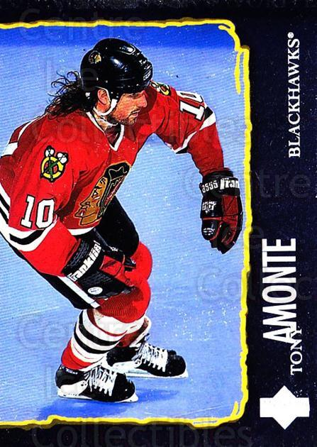 1997-98 Upper Deck #208 Tony Amonte<br/>6 In Stock - $1.00 each - <a href=https://centericecollectibles.foxycart.com/cart?name=1997-98%20Upper%20Deck%20%23208%20Tony%20Amonte...&quantity_max=6&price=$1.00&code=187691 class=foxycart> Buy it now! </a>