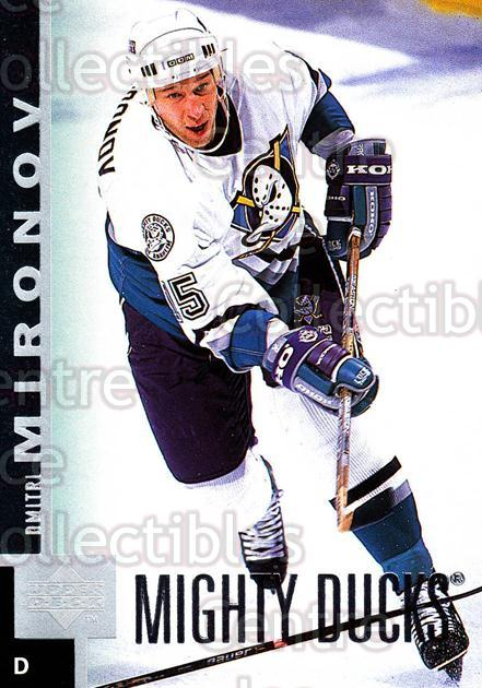 1997-98 Upper Deck #213 Dmitri Mironov<br/>15 In Stock - $1.00 each - <a href=https://centericecollectibles.foxycart.com/cart?name=1997-98%20Upper%20Deck%20%23213%20Dmitri%20Mironov...&quantity_max=15&price=$1.00&code=187697 class=foxycart> Buy it now! </a>