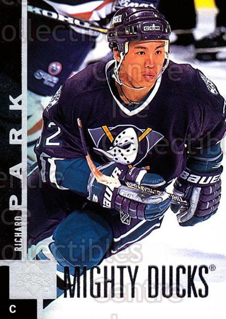 1997-98 Upper Deck #215 Richard Park<br/>15 In Stock - $1.00 each - <a href=https://centericecollectibles.foxycart.com/cart?name=1997-98%20Upper%20Deck%20%23215%20Richard%20Park...&price=$1.00&code=187699 class=foxycart> Buy it now! </a>