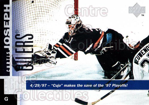 1997-98 Upper Deck #273 Curtis Joseph<br/>11 In Stock - $1.00 each - <a href=https://centericecollectibles.foxycart.com/cart?name=1997-98%20Upper%20Deck%20%23273%20Curtis%20Joseph...&quantity_max=11&price=$1.00&code=187760 class=foxycart> Buy it now! </a>