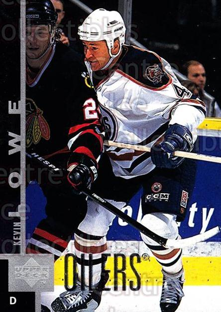 1997-98 Upper Deck #279 Kevin Lowe<br/>14 In Stock - $1.00 each - <a href=https://centericecollectibles.foxycart.com/cart?name=1997-98%20Upper%20Deck%20%23279%20Kevin%20Lowe...&quantity_max=14&price=$1.00&code=187766 class=foxycart> Buy it now! </a>