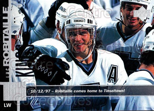 1997-98 Upper Deck #290 Luc Robitaille<br/>14 In Stock - $1.00 each - <a href=https://centericecollectibles.foxycart.com/cart?name=1997-98%20Upper%20Deck%20%23290%20Luc%20Robitaille...&quantity_max=14&price=$1.00&code=187778 class=foxycart> Buy it now! </a>