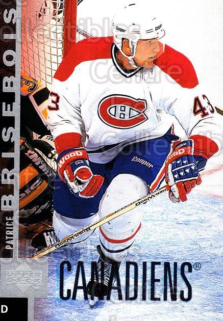 1997-98 Upper Deck #295 Patrice Brisebois<br/>14 In Stock - $1.00 each - <a href=https://centericecollectibles.foxycart.com/cart?name=1997-98%20Upper%20Deck%20%23295%20Patrice%20Brisebo...&quantity_max=14&price=$1.00&code=187782 class=foxycart> Buy it now! </a>