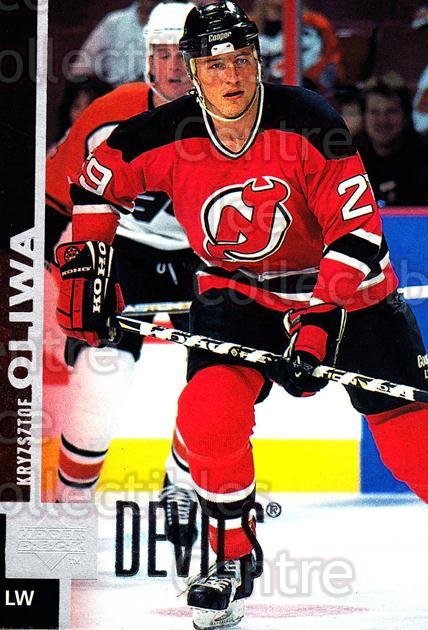 1997-98 Upper Deck #302 Krzysztof Oliwa<br/>13 In Stock - $1.00 each - <a href=https://centericecollectibles.foxycart.com/cart?name=1997-98%20Upper%20Deck%20%23302%20Krzysztof%20Oliwa...&quantity_max=13&price=$1.00&code=187791 class=foxycart> Buy it now! </a>