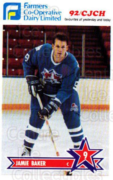 1990-91 Halifax Citadels #1 Jamie Baker<br/>4 In Stock - $3.00 each - <a href=https://centericecollectibles.foxycart.com/cart?name=1990-91%20Halifax%20Citadels%20%231%20Jamie%20Baker...&quantity_max=4&price=$3.00&code=18780 class=foxycart> Buy it now! </a>