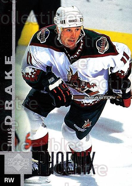 1997-98 Upper Deck #338 Dallas Drake<br/>14 In Stock - $1.00 each - <a href=https://centericecollectibles.foxycart.com/cart?name=1997-98%20Upper%20Deck%20%23338%20Dallas%20Drake...&quantity_max=14&price=$1.00&code=187829 class=foxycart> Buy it now! </a>
