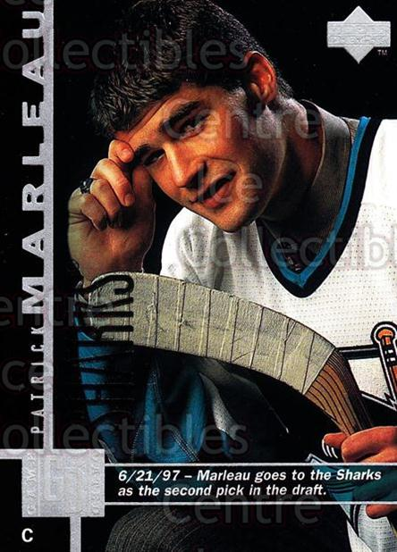 1997-98 Upper Deck #354 Patrick Marleau<br/>13 In Stock - $1.00 each - <a href=https://centericecollectibles.foxycart.com/cart?name=1997-98%20Upper%20Deck%20%23354%20Patrick%20Marleau...&quantity_max=13&price=$1.00&code=187847 class=foxycart> Buy it now! </a>