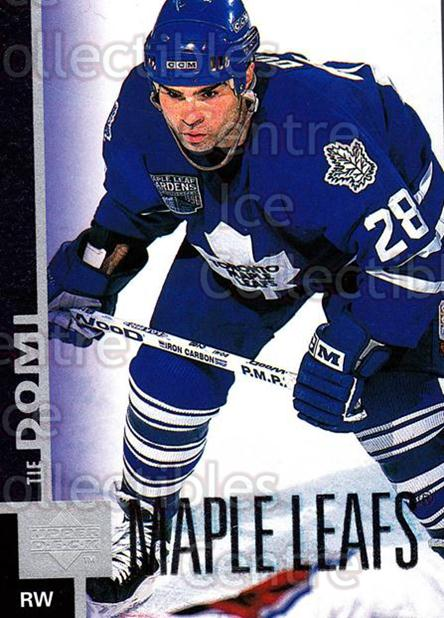 1997-98 Upper Deck #368 Tie Domi<br/>14 In Stock - $1.00 each - <a href=https://centericecollectibles.foxycart.com/cart?name=1997-98%20Upper%20Deck%20%23368%20Tie%20Domi...&quantity_max=14&price=$1.00&code=187860 class=foxycart> Buy it now! </a>