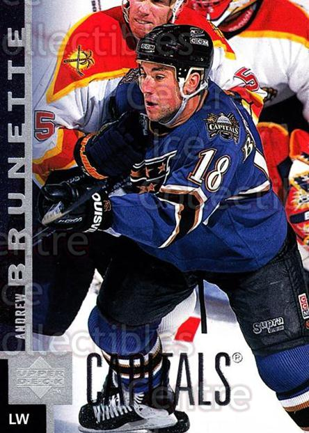 1997-98 Upper Deck #382 Andrew Brunette<br/>15 In Stock - $1.00 each - <a href=https://centericecollectibles.foxycart.com/cart?name=1997-98%20Upper%20Deck%20%23382%20Andrew%20Brunette...&quantity_max=15&price=$1.00&code=187876 class=foxycart> Buy it now! </a>