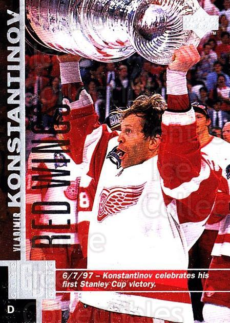 1997-98 Upper Deck #63 Vladimir Konstantinov<br/>5 In Stock - $1.00 each - <a href=https://centericecollectibles.foxycart.com/cart?name=1997-98%20Upper%20Deck%20%2363%20Vladimir%20Konsta...&quantity_max=5&price=$1.00&code=187937 class=foxycart> Buy it now! </a>