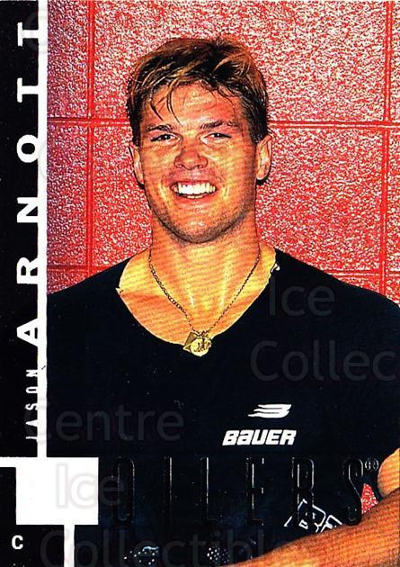 1997-98 Upper Deck #66 Jason Arnott<br/>4 In Stock - $1.00 each - <a href=https://centericecollectibles.foxycart.com/cart?name=1997-98%20Upper%20Deck%20%2366%20Jason%20Arnott...&quantity_max=4&price=$1.00&code=187940 class=foxycart> Buy it now! </a>