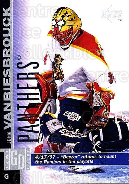 1997-98 Upper Deck #72 John Vanbiesbrouck<br/>3 In Stock - $1.00 each - <a href=https://centericecollectibles.foxycart.com/cart?name=1997-98%20Upper%20Deck%20%2372%20John%20Vanbiesbro...&quantity_max=3&price=$1.00&code=187947 class=foxycart> Buy it now! </a>