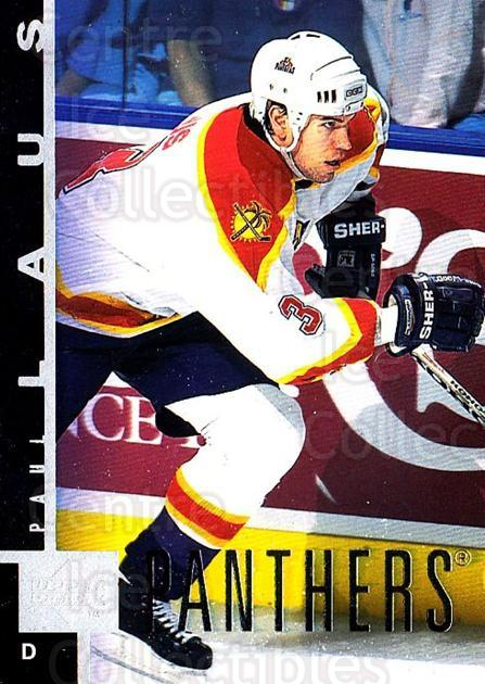 1997-98 Upper Deck #75 Paul Laus<br/>4 In Stock - $1.00 each - <a href=https://centericecollectibles.foxycart.com/cart?name=1997-98%20Upper%20Deck%20%2375%20Paul%20Laus...&quantity_max=4&price=$1.00&code=187950 class=foxycart> Buy it now! </a>