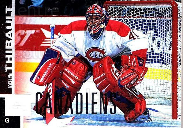 1997-98 Upper Deck #90 Jocelyn Thibault<br/>3 In Stock - $1.00 each - <a href=https://centericecollectibles.foxycart.com/cart?name=1997-98%20Upper%20Deck%20%2390%20Jocelyn%20Thibaul...&quantity_max=3&price=$1.00&code=187967 class=foxycart> Buy it now! </a>