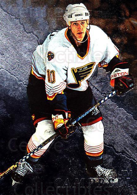 1998-99 Be A Player #125 Jim Campbell<br/>2 In Stock - $1.00 each - <a href=https://centericecollectibles.foxycart.com/cart?name=1998-99%20Be%20A%20Player%20%23125%20Jim%20Campbell...&quantity_max=2&price=$1.00&code=188005 class=foxycart> Buy it now! </a>