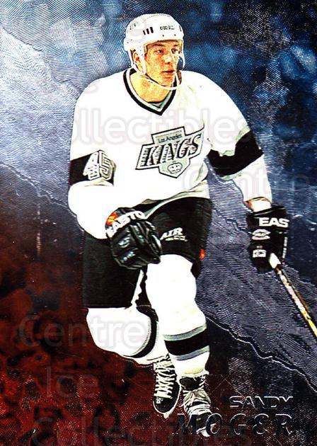 1998-99 Be A Player #64 Sandy Moger<br/>2 In Stock - $1.00 each - <a href=https://centericecollectibles.foxycart.com/cart?name=1998-99%20Be%20A%20Player%20%2364%20Sandy%20Moger...&quantity_max=2&price=$1.00&code=188213 class=foxycart> Buy it now! </a>