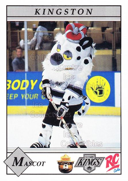 1990-91 Los Angeles Kings Smokey #24 Mascot, Checklist<br/>8 In Stock - $3.00 each - <a href=https://centericecollectibles.foxycart.com/cart?name=1990-91%20Los%20Angeles%20Kings%20Smokey%20%2324%20Mascot,%20Checkli...&quantity_max=8&price=$3.00&code=18826 class=foxycart> Buy it now! </a>