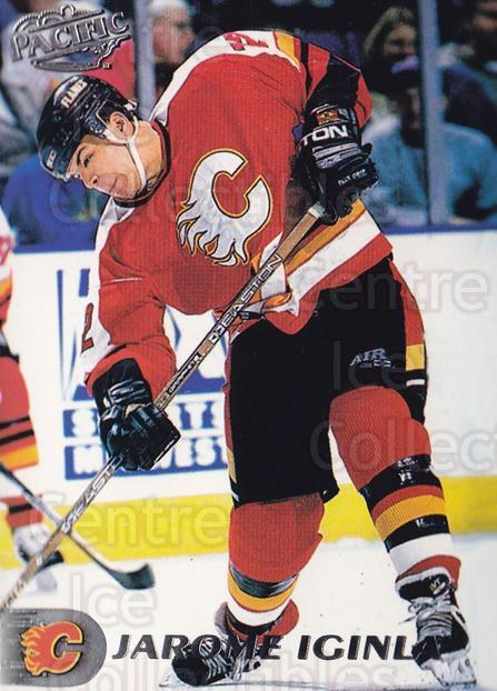 1998-99 Pacific #120 Jarome Iginla<br/>3 In Stock - $1.00 each - <a href=https://centericecollectibles.foxycart.com/cart?name=1998-99%20Pacific%20%23120%20Jarome%20Iginla...&quantity_max=3&price=$1.00&code=188356 class=foxycart> Buy it now! </a>