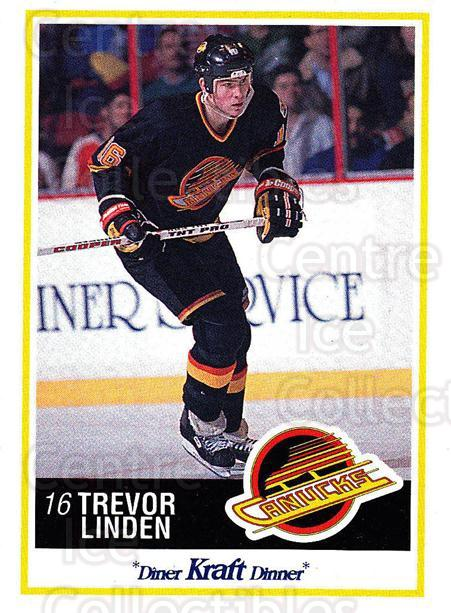 1990-91 Kraft #30 Trevor Linden<br/>7 In Stock - $2.00 each - <a href=https://centericecollectibles.foxycart.com/cart?name=1990-91%20Kraft%20%2330%20Trevor%20Linden...&quantity_max=7&price=$2.00&code=18865 class=foxycart> Buy it now! </a>