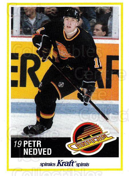 1990-91 Kraft #38 Petr Nedved<br/>4 In Stock - $2.00 each - <a href=https://centericecollectibles.foxycart.com/cart?name=1990-91%20Kraft%20%2338%20Petr%20Nedved...&quantity_max=4&price=$2.00&code=18870 class=foxycart> Buy it now! </a>
