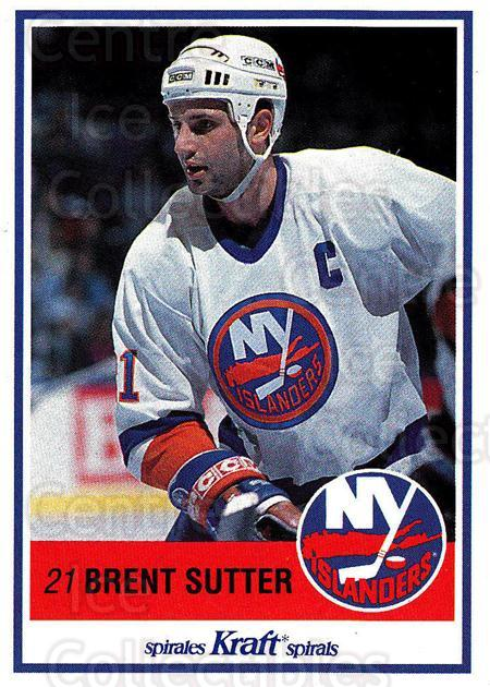 1990-91 Kraft #57 Brent Sutter<br/>8 In Stock - $2.00 each - <a href=https://centericecollectibles.foxycart.com/cart?name=1990-91%20Kraft%20%2357%20Brent%20Sutter...&quantity_max=8&price=$2.00&code=18885 class=foxycart> Buy it now! </a>