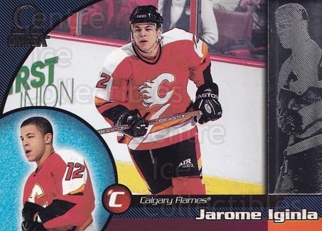 1998-99 Omega #33 Jarome Iginla<br/>5 In Stock - $1.00 each - <a href=https://centericecollectibles.foxycart.com/cart?name=1998-99%20Omega%20%2333%20Jarome%20Iginla...&quantity_max=5&price=$1.00&code=189083 class=foxycart> Buy it now! </a>