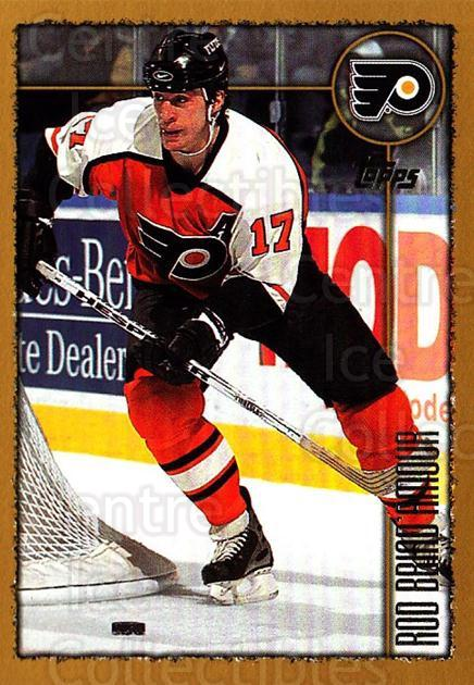 1998-99 Topps #116 Rod Brind'Amour<br/>4 In Stock - $1.00 each - <a href=https://centericecollectibles.foxycart.com/cart?name=1998-99%20Topps%20%23116%20Rod%20Brind'Amour...&quantity_max=4&price=$1.00&code=189419 class=foxycart> Buy it now! </a>