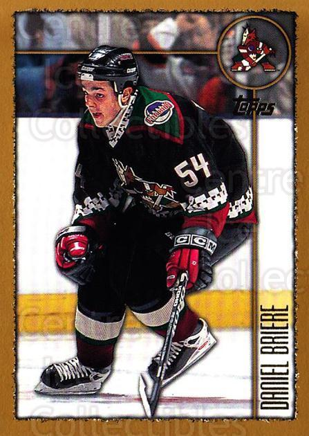 1998-99 Topps #149 Daniel Briere<br/>5 In Stock - $1.00 each - <a href=https://centericecollectibles.foxycart.com/cart?name=1998-99%20Topps%20%23149%20Daniel%20Briere...&quantity_max=5&price=$1.00&code=189455 class=foxycart> Buy it now! </a>