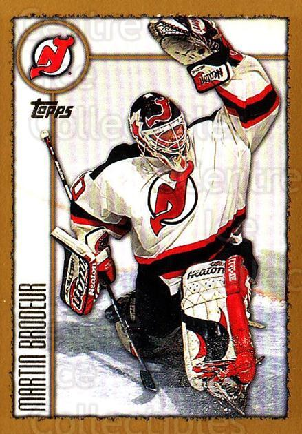 1998-99 Topps #20 Martin Brodeur<br/>2 In Stock - $2.00 each - <a href=https://centericecollectibles.foxycart.com/cart?name=1998-99%20Topps%20%2320%20Martin%20Brodeur...&quantity_max=2&price=$2.00&code=189510 class=foxycart> Buy it now! </a>