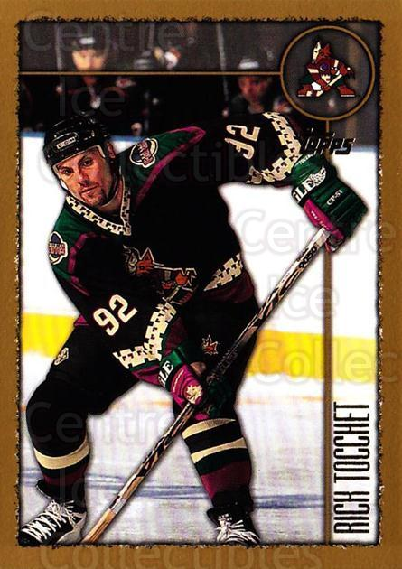 1998-99 Topps #34 Rick Tocchet<br/>5 In Stock - $1.00 each - <a href=https://centericecollectibles.foxycart.com/cart?name=1998-99%20Topps%20%2334%20Rick%20Tocchet...&quantity_max=5&price=$1.00&code=189561 class=foxycart> Buy it now! </a>