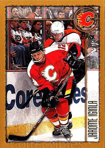 1998-99 Topps #52 Jarome Iginla<br/>5 In Stock - $1.00 each - <a href=https://centericecollectibles.foxycart.com/cart?name=1998-99%20Topps%20%2352%20Jarome%20Iginla...&quantity_max=5&price=$1.00&code=189581 class=foxycart> Buy it now! </a>
