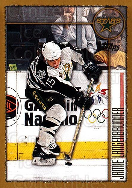 1998-99 Topps #7 Jamie Langenbrunner<br/>5 In Stock - $1.00 each - <a href=https://centericecollectibles.foxycart.com/cart?name=1998-99%20Topps%20%237%20Jamie%20Langenbru...&quantity_max=5&price=$1.00&code=189600 class=foxycart> Buy it now! </a>